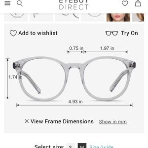 Accessories - Clear frame glasses